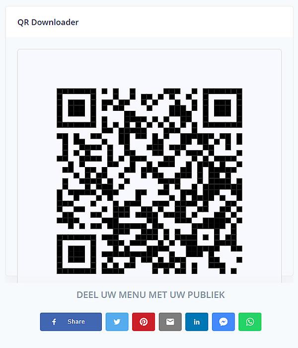 deel je qr code